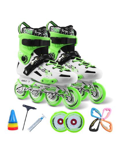 ACTION 溜冰鞋成人平花鞋花式单排轮滑鞋 旱冰鞋滑冰鞋俱乐部推荐款